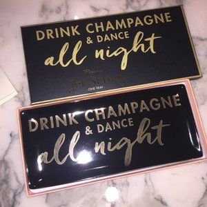 Jetter Setter Drink Champagne Dance All Night Tray